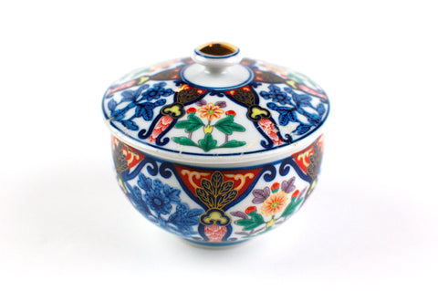 Japanese Arita Imari Tea Cup with Lid