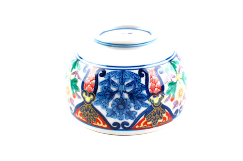 Japanese Imari Porcelain Tea Cups with Lid