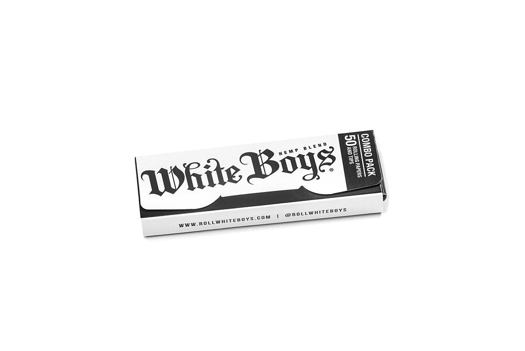 "Roll White Boys Premium Rolling Papers Size: 1 1/4"" (Six Pack)"