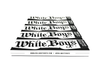 WHITE BOYS PREMIUM ROLLING PAPERS + TIPS - KING SIZE SLIM - 5 BOOKLETS