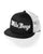Black/White White Boys Trucker Hat The White Boys Black/ White Trucker Hat offers a cool, retro style and fully ventilated comfort. One size fits your noggin.
