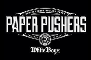 Roll White Boys Paper Pushers T-Shirt Collection