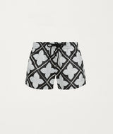 TILE BLACK SWIM SHORT - COMMAS