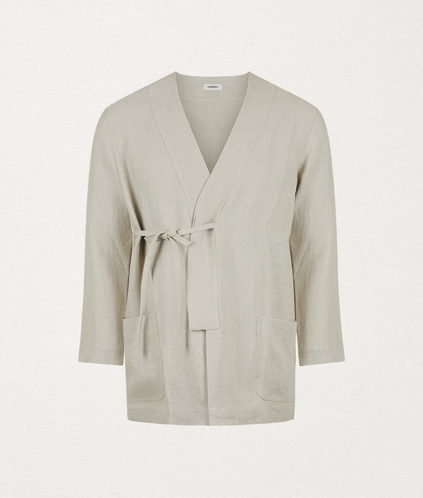 NATURAL CLASSIC ROBE - COMMAS