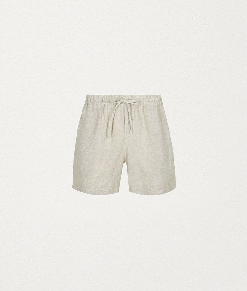 Natural Linen short - COMMAS