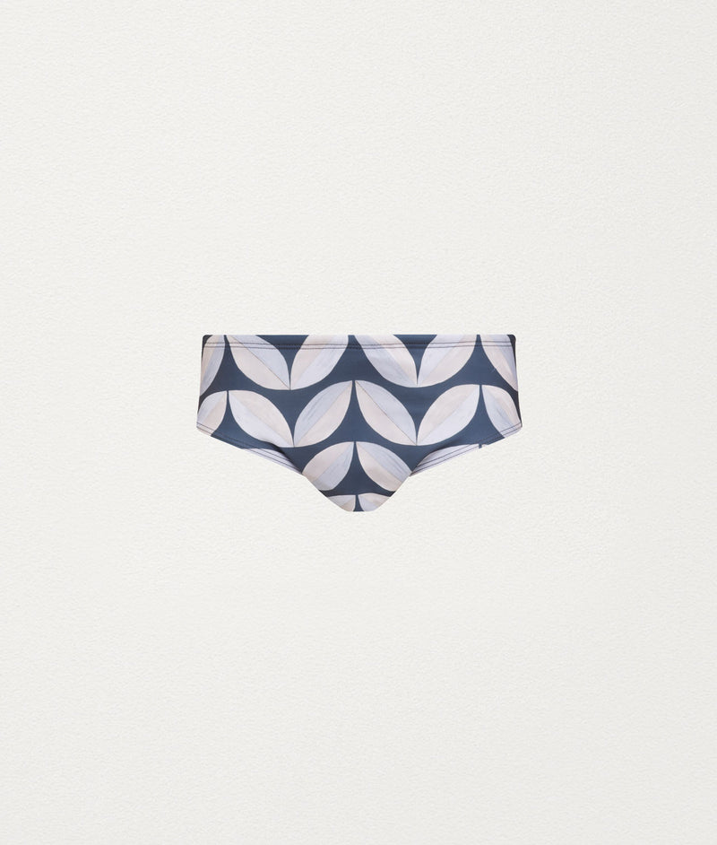 PAVILION TILE SLATE CLASSIC SWIM BRIEF - COMMAS