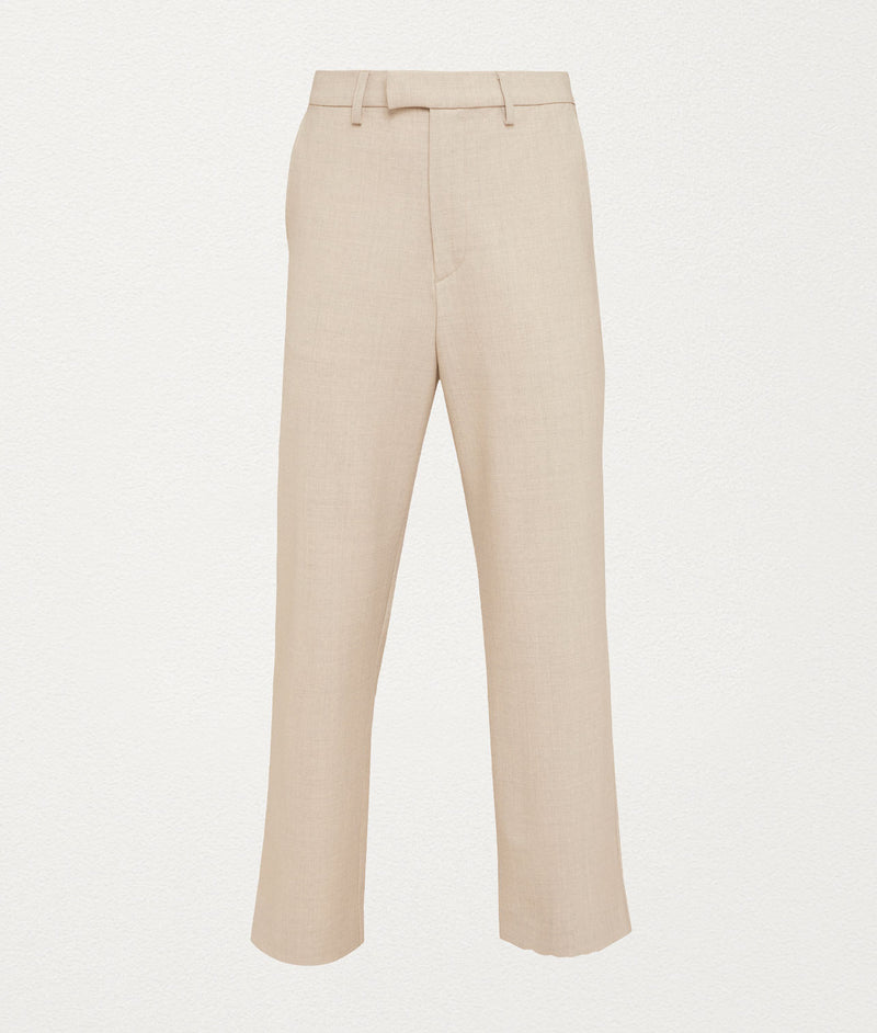 Tailored Natural Pants - COMMAS