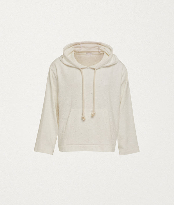 Luxe Hooded sweater - COMMAS