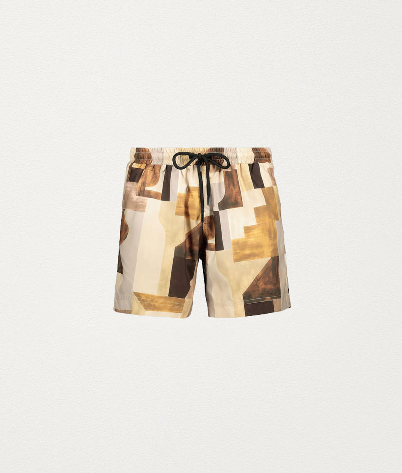 EARTH WINE CLASSIC SWIM SHORT - COMMAS