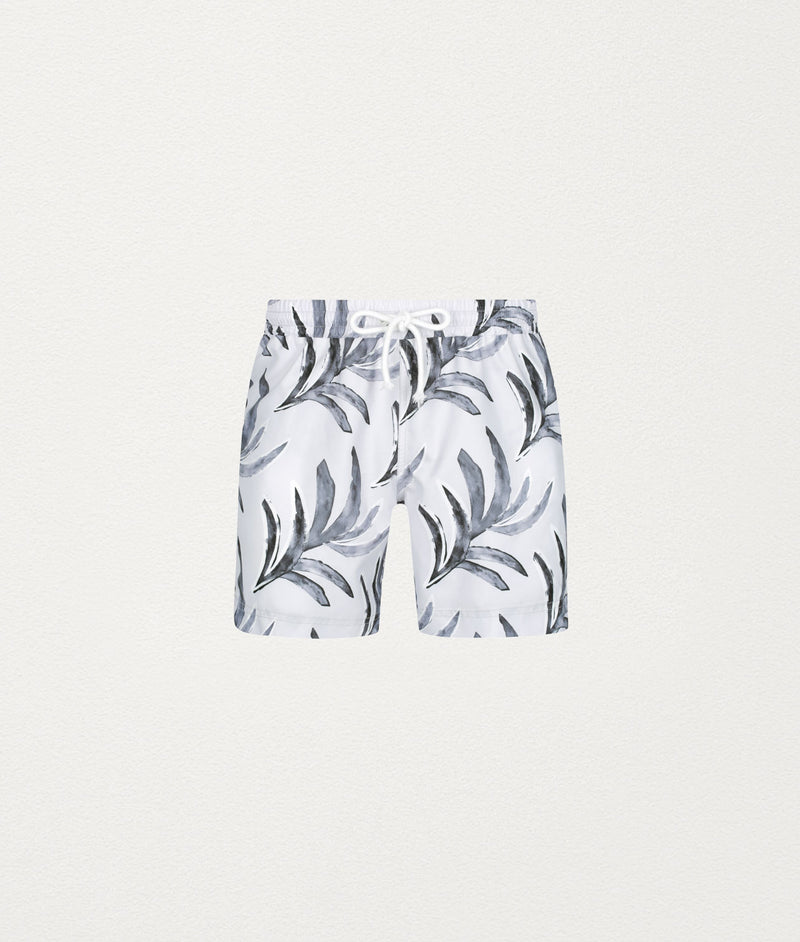 PAINTED PALM CLASSIC SWIM SHORT - COMMAS