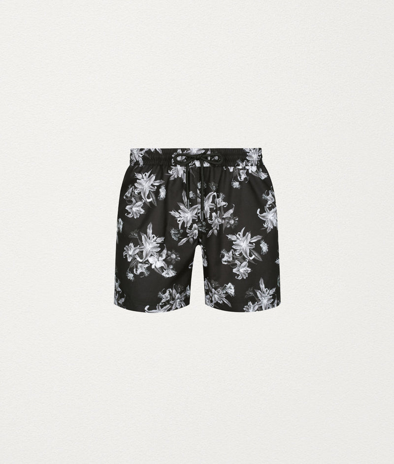 MOODY FLORAL CLASSIC SWIM SHORT - COMMAS