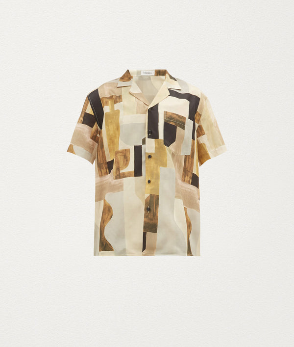 EARTH WINE SHORT SLEEVE SHIRT - COMMAS