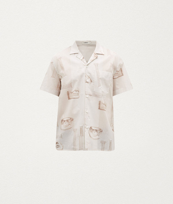 COLOSSUS STONE SHORT SLEEVE SHIRT - COMMAS