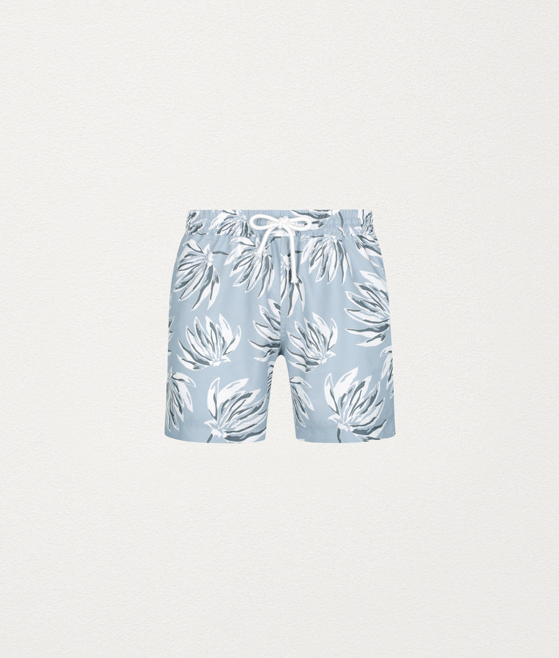 Banana Leaf Classic Swim Short - COMMAS