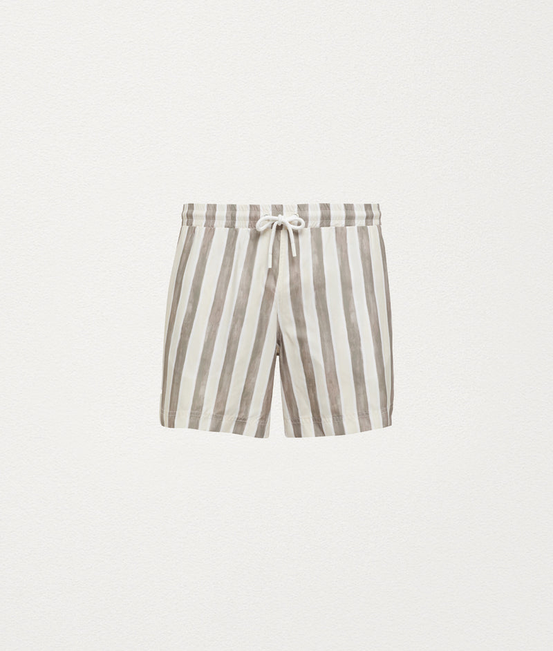 FLAG STRIPE CLASSIC SWIM SHORT - COMMAS