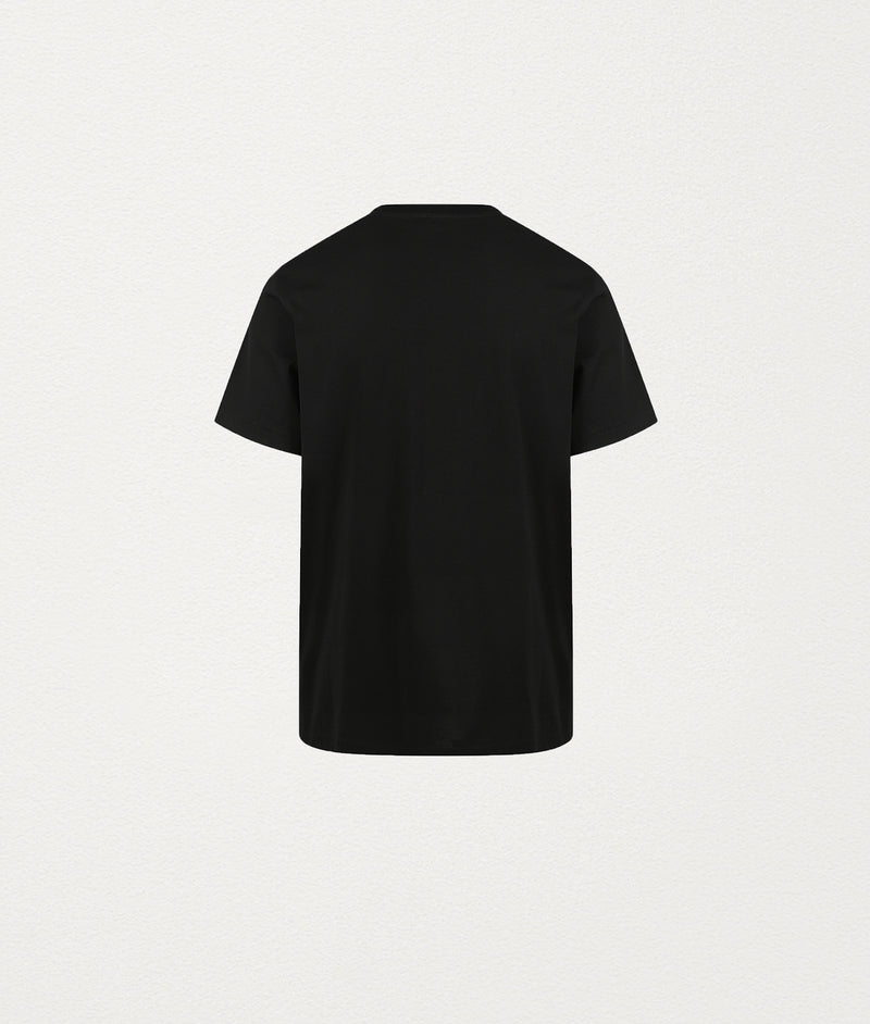 BLACK PISCINE TSHIRT - COMMAS
