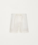 White Linen Lounge Short - COMMAS