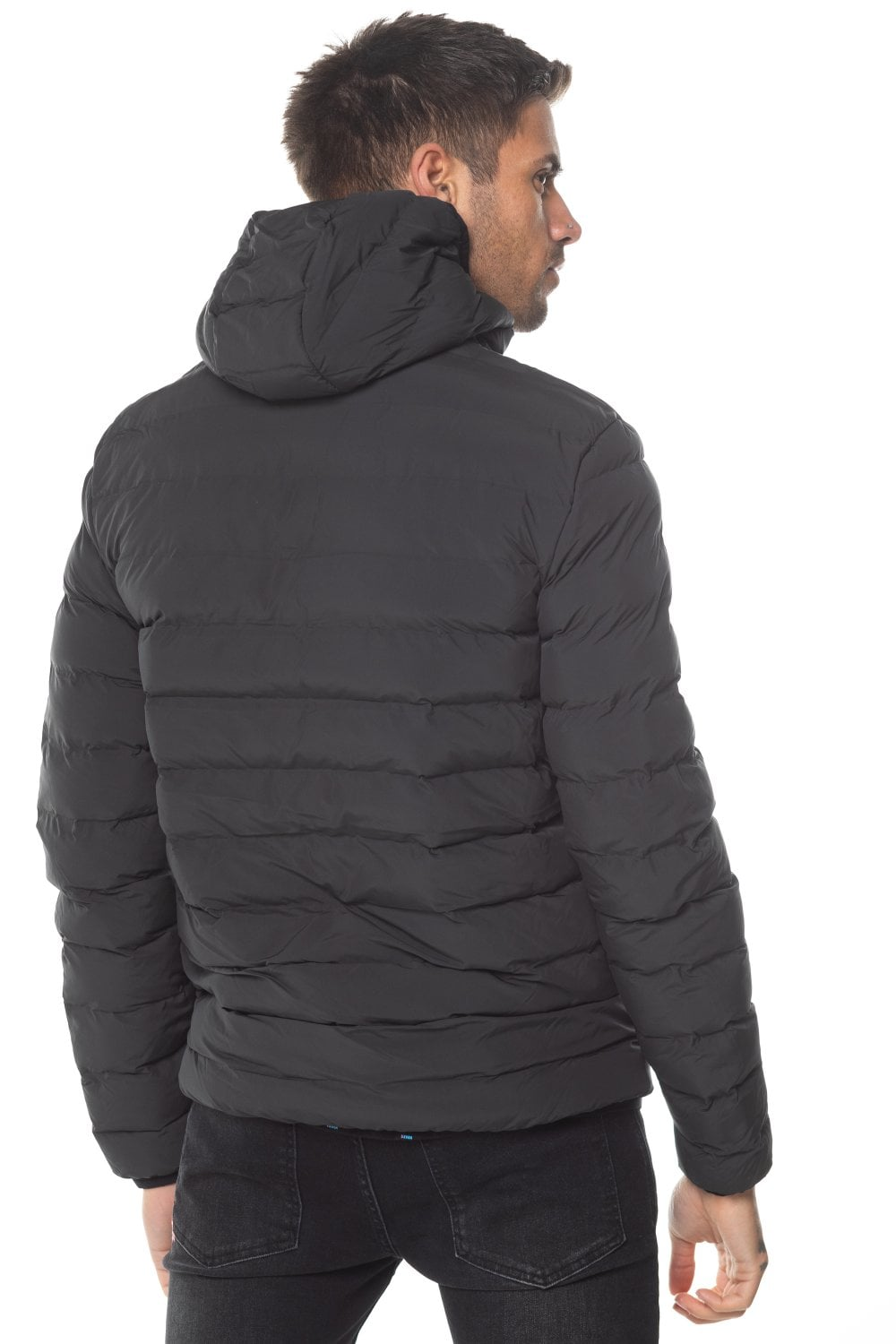 11 Degrees Space Puffer Jacket - Black