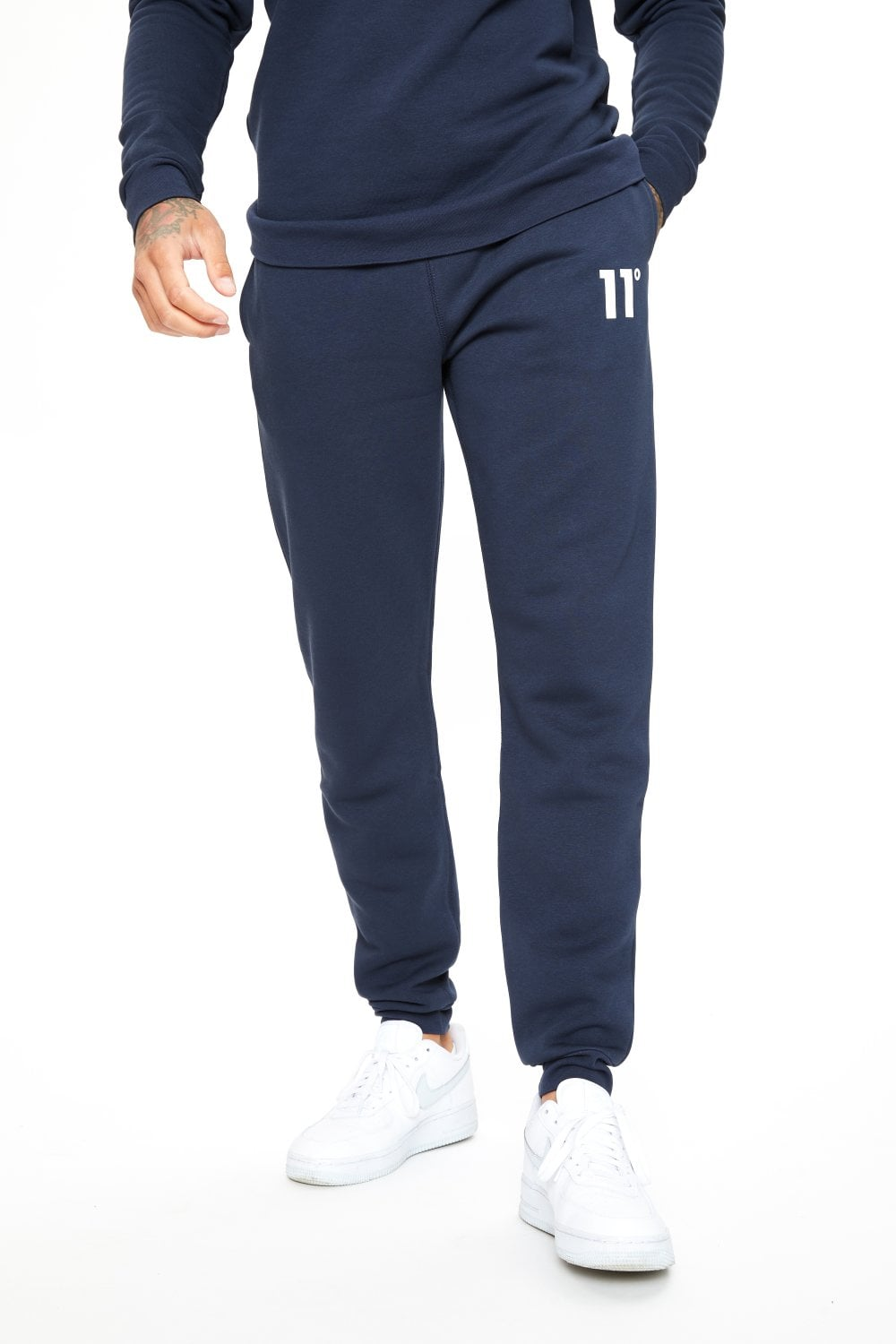 11 Degrees Core Joggers Regular Fit - Navy