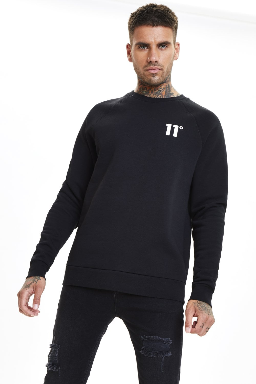 11 Degrees Core Sweatshirt - Black