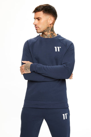 11 Degrees Core Sweatshirt - Navy