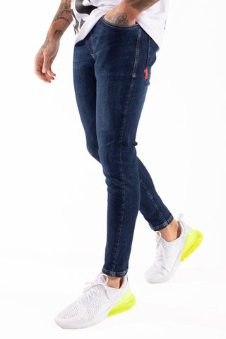 11 Degrees Super Stretch Skinny Jeans - Indigo Blue