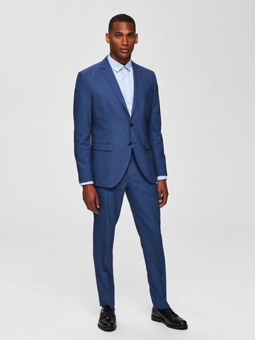 Slim Fit 2 Piece Suit - Blue