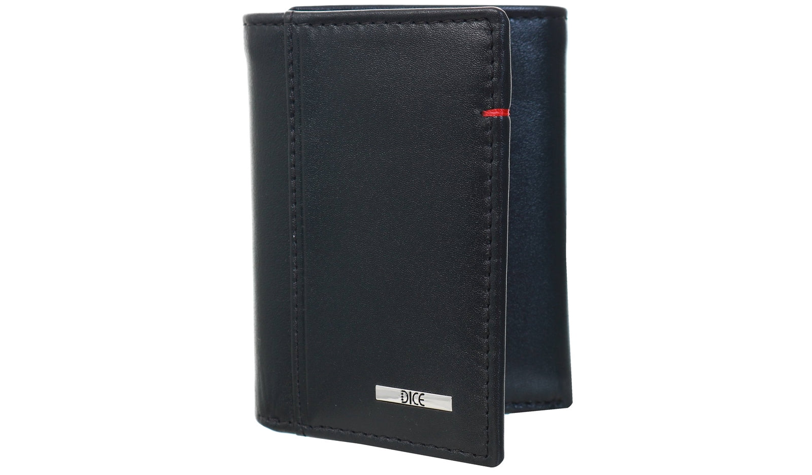 BLACK LEATHER WALLET IN A BOX