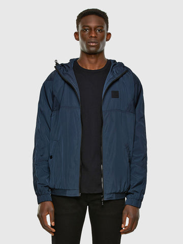 Diesel Ethan Hooded  Jacket - Blue
