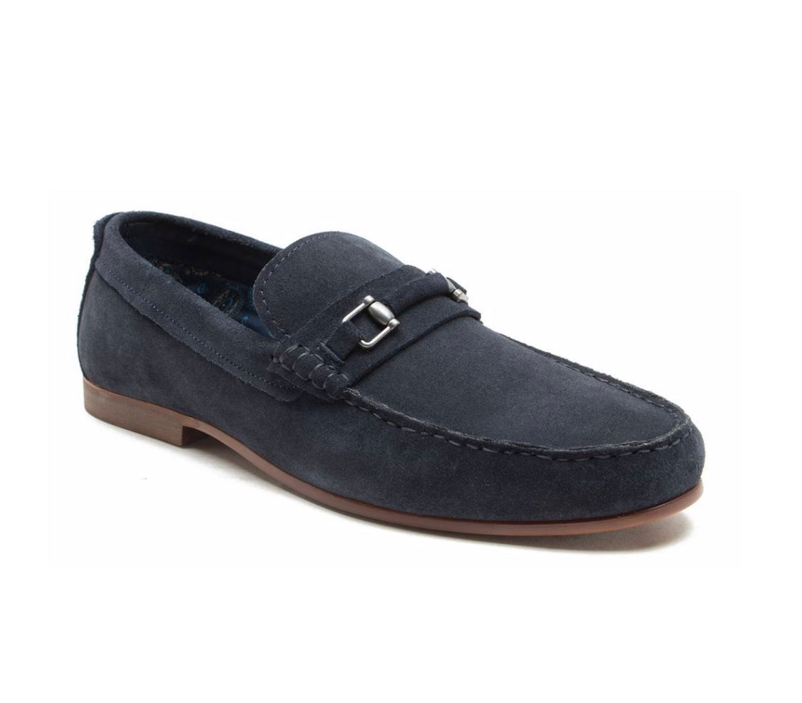 Trimble Navy loafer Shoe