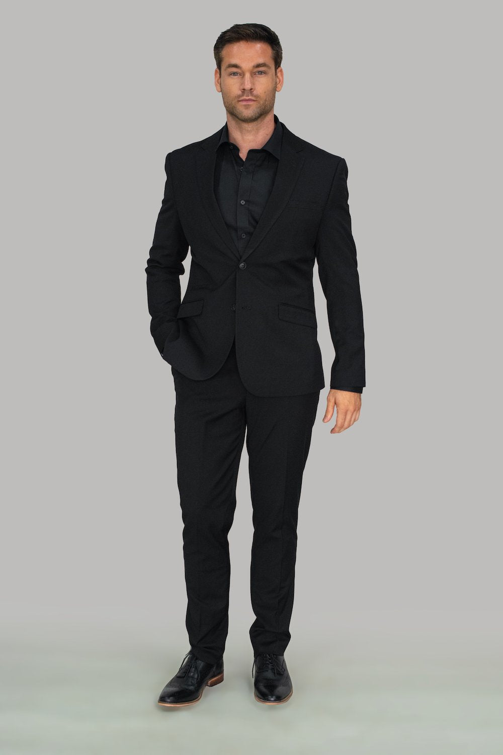 2 Piece Black Suit