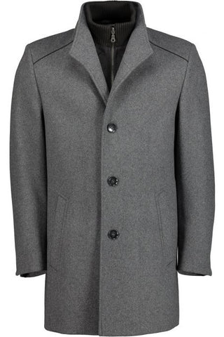 S4 Newton L3 Wool Coat - Grey