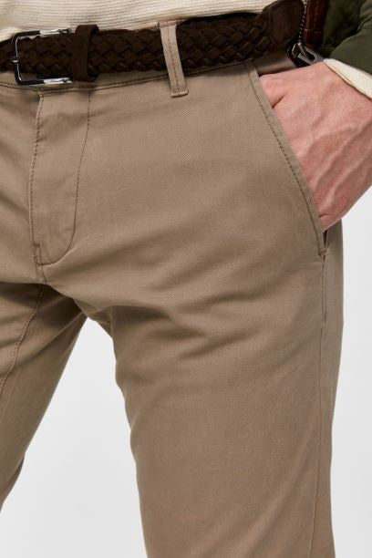 Selected Homme Straight Fit Chino - Beige