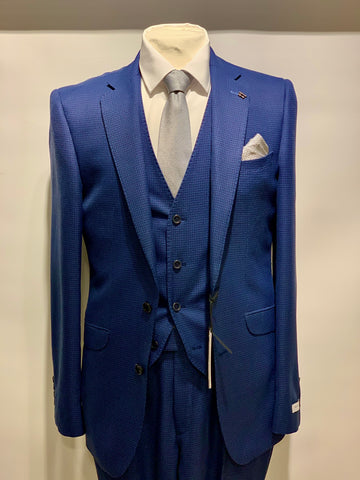 White Label Suit Blue