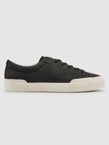 Farah Dallas Vulcanised Trainer - Black Mono