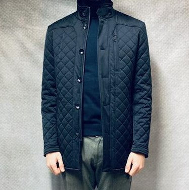 White Label Brady coat - navy