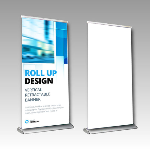 Premium Pull Up Banner 850mm x 2000mm