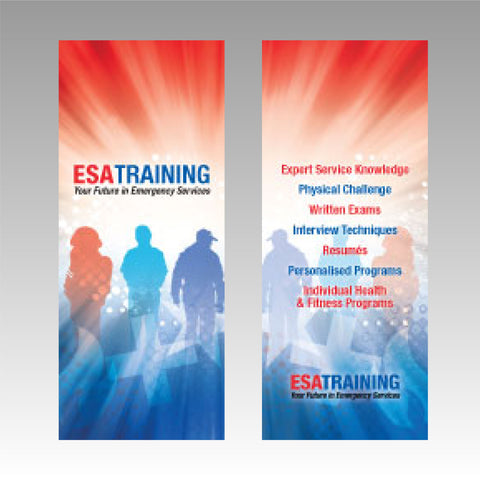Graphic For Pull Up Banner 850mm x 2000mm