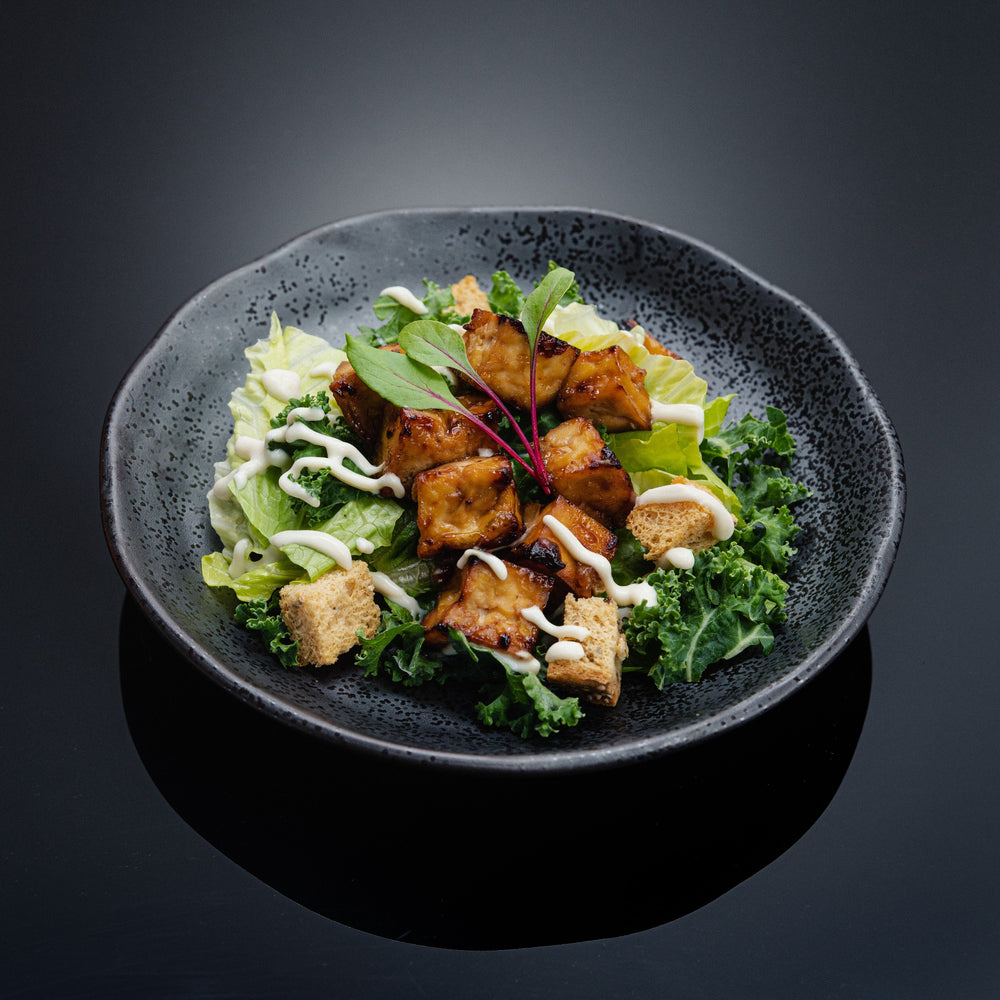 Load image into Gallery viewer, Grilled Tofu Kale Caesar