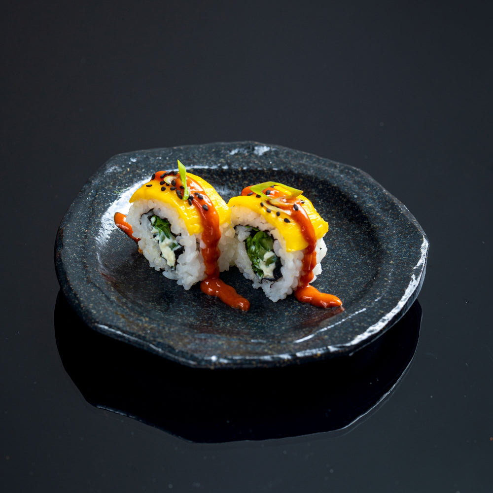 Load image into Gallery viewer, Feature Roll - Spicy Miso Mango