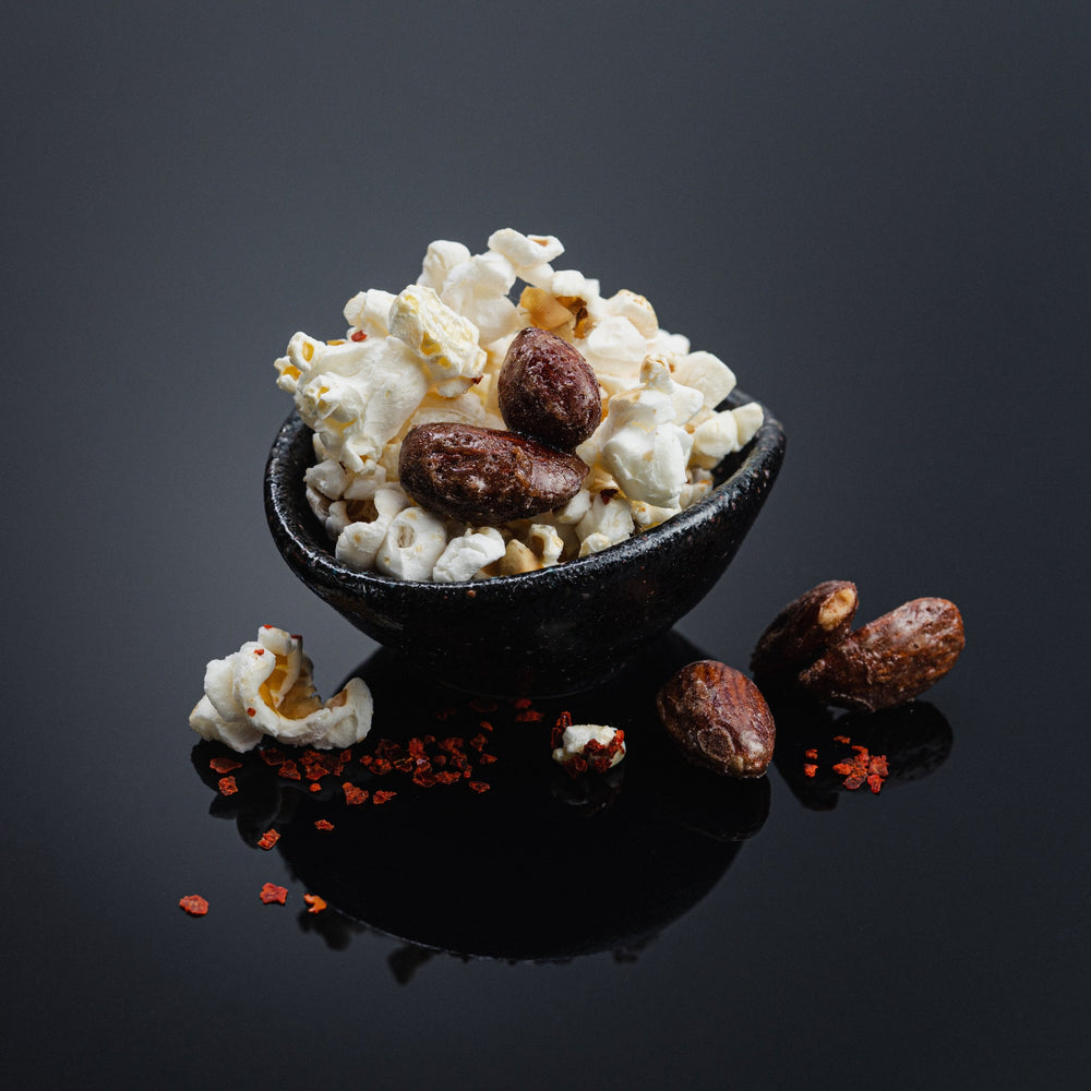 Maple Almond and Seed Popcorn