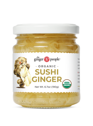 Organic Sushi Ginger Single Portion 10g