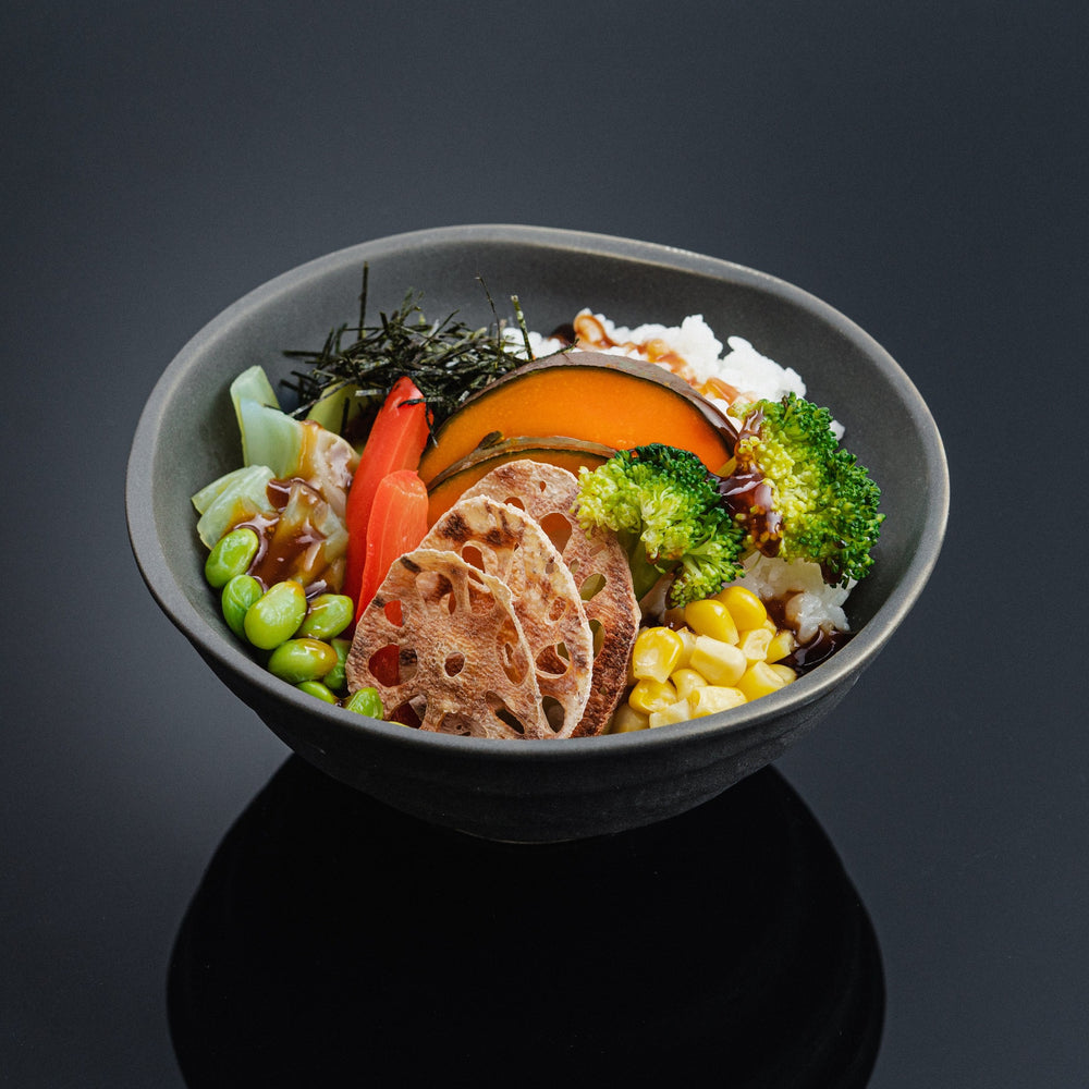 Load image into Gallery viewer, Steamed Veggie Domburi