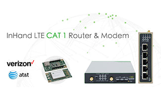 InHand LTE CAT 1 Router & Modem Are Now Verizon and AT&T Certified