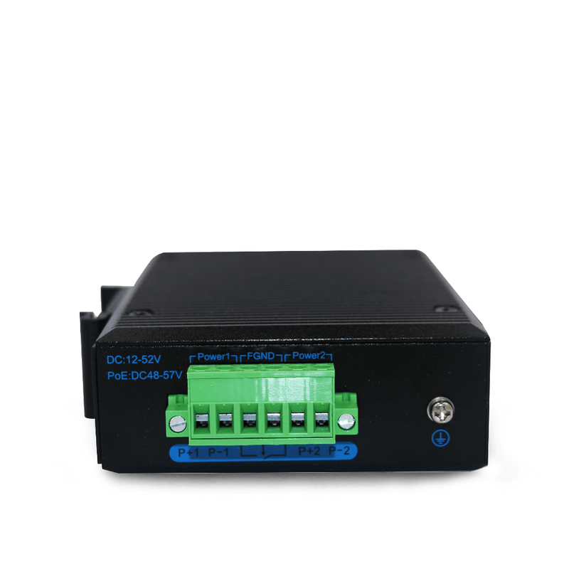 ISE1002D Unmanaged Industrial Ethernet Switch with 1*10/100Base-TX,1*100Base-FX