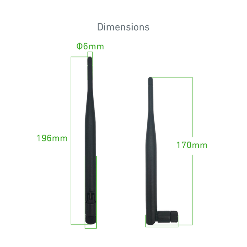 High Gain Omnidirectional 5dBi SMA Wi-Fi External Antenna