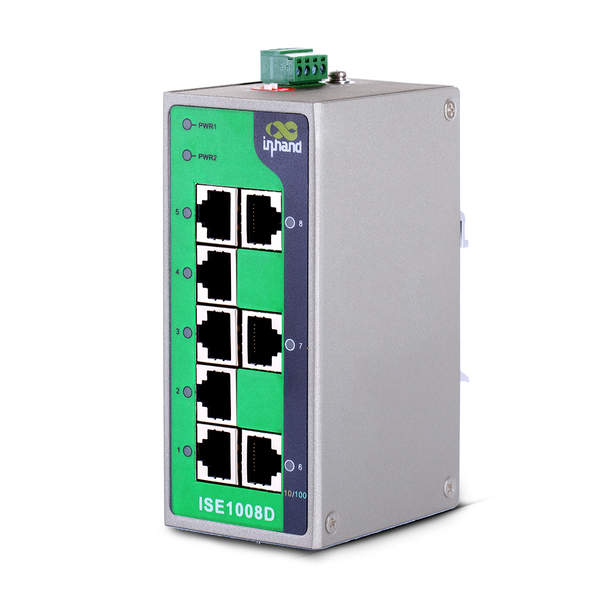 ISE1008D 8-Port Unmanaged Industrial Ethernet Switch