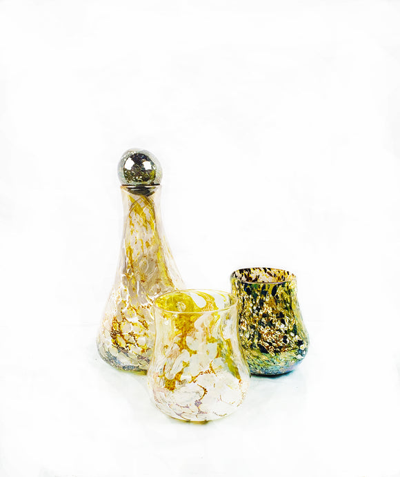 GLASS BLOWING - Create-Your-Own Barware Decanter Set
