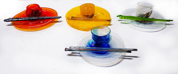 GLASS BLOWING - Create-Your-Own Sushi Set