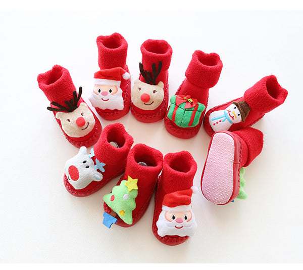 Christmas Newborn Socks